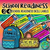 School Readiness Display Labels