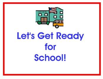 School Readiness binder
