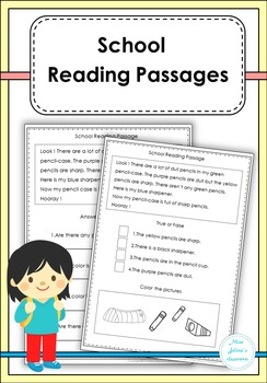 School Reading Passages