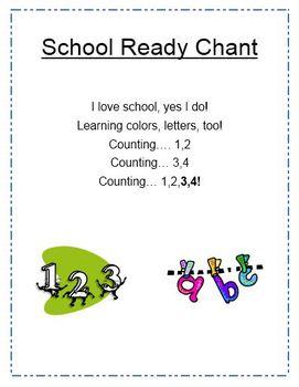 School Ready Chant