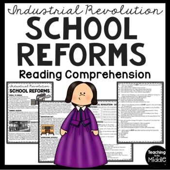 School Reforms During the Industrial Revolution Article, Q