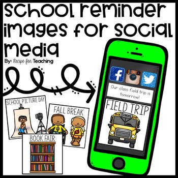 School Reminder Images for Social Media