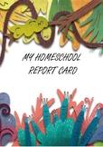 School Report Card - Homeschool report card