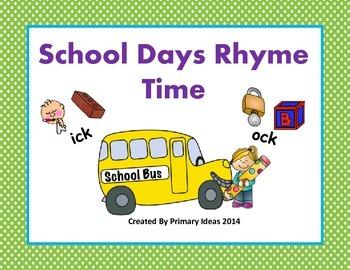 School Rhyme Time