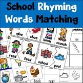 School Rhyming Activities
