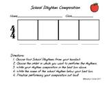 School Rhythm Composition