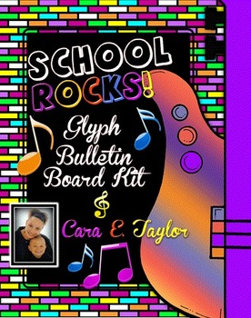 School Rocks!  Glyph and Bulletin Board ~Fantastic 500 Followers Product