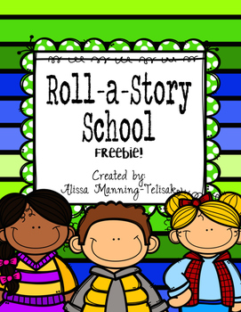 School Roll a Story Freebie!