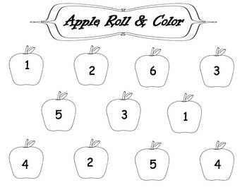School Roll and Color {FREEBIE}