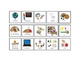 School Schedule Picture Cards