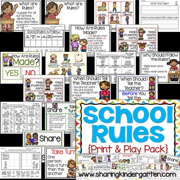 Classroom Rules / School Rules