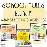 School Rules Adapted Books and Activities Bundle