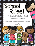 School Rules!--Back to School Rules and Activites for PK-1