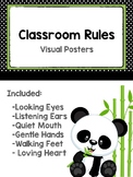 School Rules - Black, White, & Green