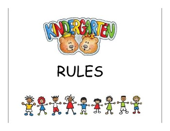 School Rules Book Primary