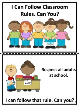 School Rules Easy Reader