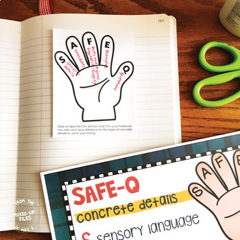 Back to School Concrete Details Writing Task Cards