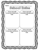 School Rules Freebie - differentiated