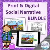 School Rules Interactive Social Narrative Print & BOOM Car