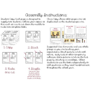 School Rules Little Book Growing Bundle