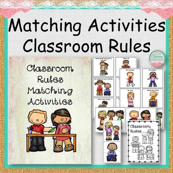 Matching Activities Classroom Rules