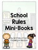 School Rules Mini-Books Growing Bundle