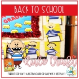 School Rules: No David! Writing activity & Craft