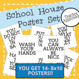 Class Rules Building Character POSTER SET