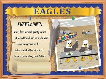 School Rules Poster Set - Large