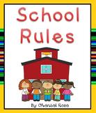 School Rules Posters **FREEBIE**
