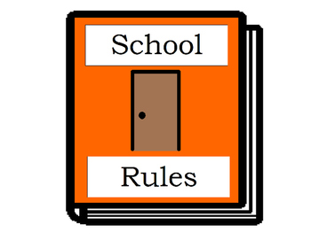 School Rules Social Story Book