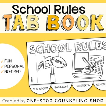 School Rules Tab Book