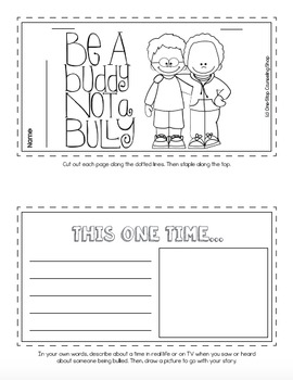 Bullying Tab Book