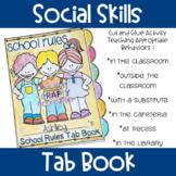 Social Skills Tab Book (School Rules)
