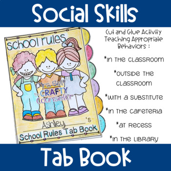 Social Skills Tab Book (School Rules)