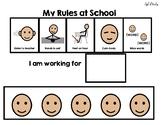 School Rules Token Board