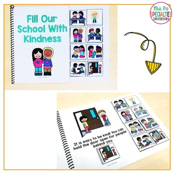 School Rules and Behaviors Interactive Books