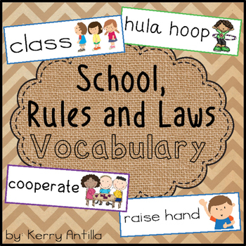 School, Rules and Laws