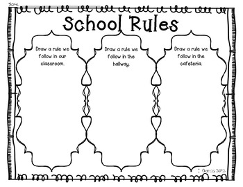 School Rules in English