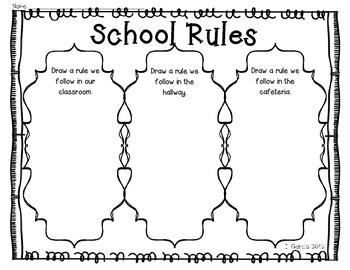 School Rules in English
