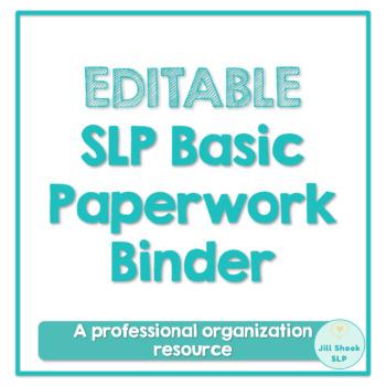 SLP Basic Paperwork Bundle