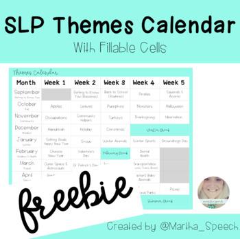 School SLP Themes Templates