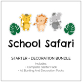 School Safari Classroom Decor and Party Pack
