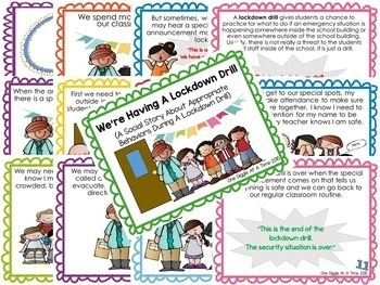 School Safety Classroom Social Story Bundle