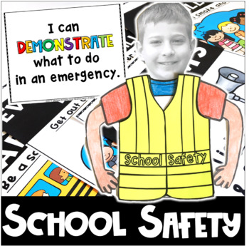 School Safety Drills Teacher Kit with Craftivity