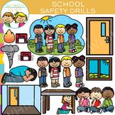 School Safety Drills Clip Art