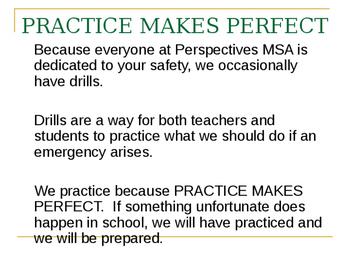 School Safety Drills Powerpoint