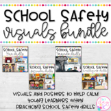 School Safety Drills and Procedures (Fire, Tornado, and Intruder Drill Visuals)