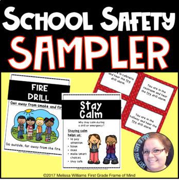 School Safety Teacher Kit Sampler by First Grade Frame of Mind | TpT