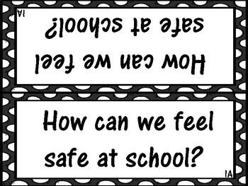 School Safety and Bullying Prevention Activities (3 activities)